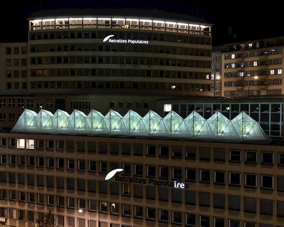 Image - Team: Calonder architectes-paysagistes / Augusto Calonder, Maracon (CH) & Masson-Tarsoly architectes / Arabella Masson, Csaba Tarsoly, Lausanne (CH) - Photo: Anne-Laure Lechat