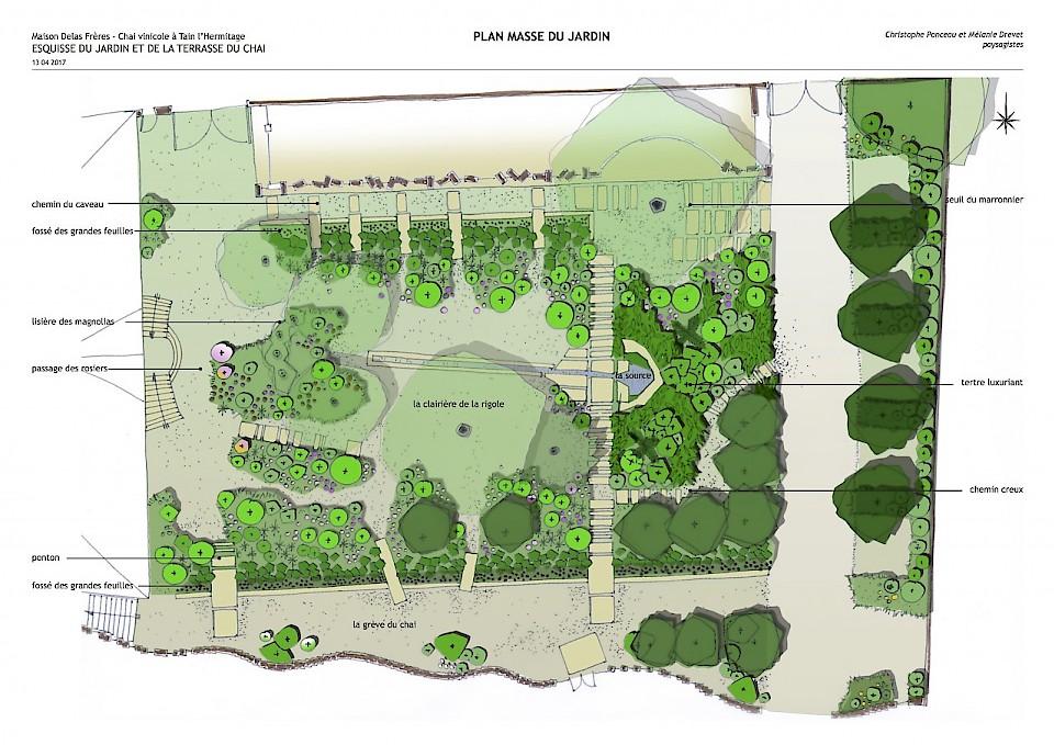 Image - Plan général du jardin